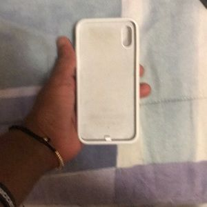 Accessories - iPhone X Charging Case all White